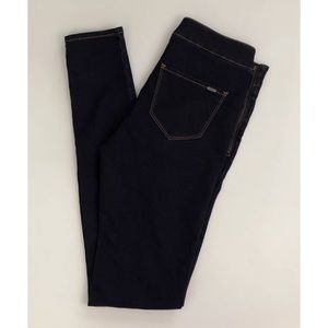 I. Code Dark Blue Denim Treggings Leggings Jeans
